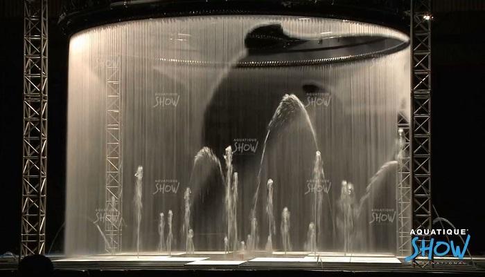 màn nước nghệ thuật