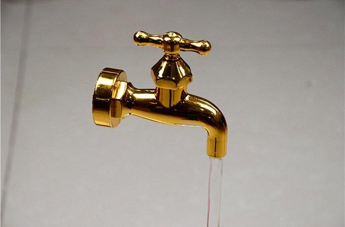 đài phun nước lơ lửng