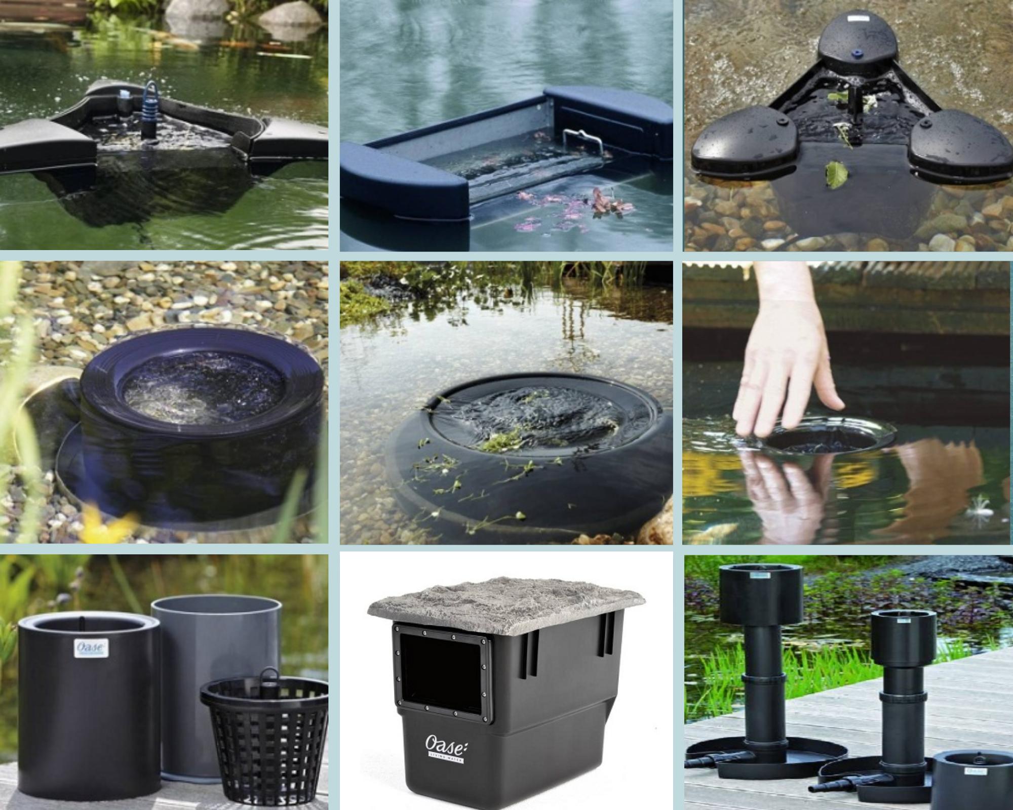 Các sản phẩm lọc bề mặt của OASE